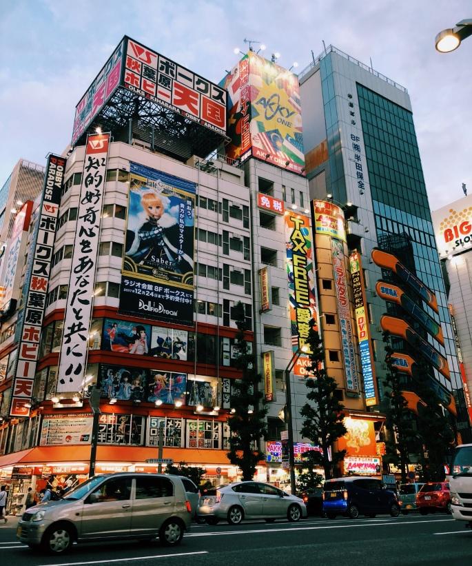 Tokio, co zwiedzać? Akihabara